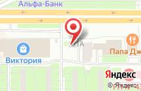Схема проезда до компании Эльфом в Санкт-Петербурге