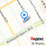 Карион на карте Санкт-Петербурга