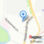 Continental service на карте Санкт-Петербурга
