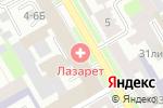 Схема проезда до компании Инженерный Центр Информационных и Управляющих Систем в Санкт-Петербурге