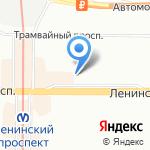 Супер Мама на карте Санкт-Петербурга