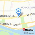 Парабеллум на карте Санкт-Петербурга