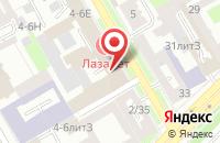 Схема проезда до компании Нивона в Санкт-Петербурге