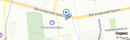Склад-Авто на карте Санкт-Петербурга