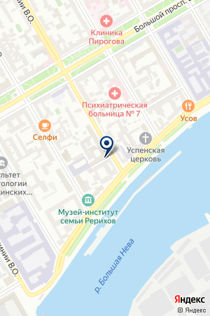 ДЕВЕЛОПЕРСКАЯ ФИРМА REAL ESTATE DEVELOPMENT на карте Санкт-Петербурга