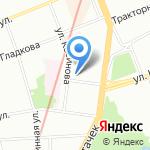 Отдел вневедомственной охраны Управления МВД РФ по Кировскому району на карте Санкт-Петербурга