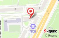 Схема проезда до компании Эталон в Санкт-Петербурге