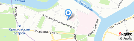 ТИТАН-ТЛК на карте Санкт-Петербурга
