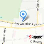 Юниор на карте Санкт-Петербурга