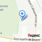 Северный цемент на карте Санкт-Петербурга