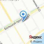Технолог-М на карте Санкт-Петербурга