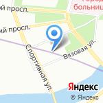 Дом ветеранов войны №2 на карте Санкт-Петербурга