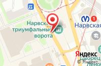 Схема проезда до компании Айдос в Санкт-Петербурге