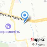 Алекс-Моторс на карте Санкт-Петербурга