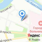 Технолоджик на карте Санкт-Петербурга