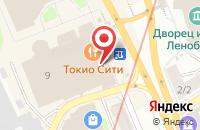 Схема проезда до компании Kari в Санкт-Петербурге
