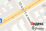 Схема проезда до компании Адвокат в Санкт-Петербурге
