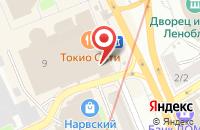Схема проезда до компании Техноспар Калининград в Кутузово