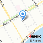 Городская психиатрическая больница №7 им. академика И.П. Павлова на карте Санкт-Петербурга