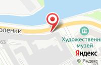 Схема проезда до компании Фронд в Санкт-Петербурге