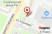 Схема проезда до компании Де Юна в Санкт-Петербурге