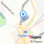 ГАЛА-ТУР СПБ на карте Санкт-Петербурга