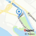 S & S на карте Санкт-Петербурга