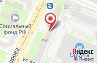 Схема проезда до компании Металлполимер в Санкт-Петербурге