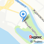 Детский сад №96 комбинированного вида на карте Санкт-Петербурга