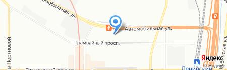 Средняя общеобразовательная школа №658 на карте Санкт-Петербурга