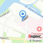 Госпиталь Управления ФСБ по Санкт-Петербургу и Ленинградской области на карте Санкт-Петербурга