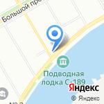 Мастерская Игоря Шадхана-ТОМ на карте Санкт-Петербурга