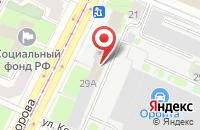 Схема проезда до компании Энерготемп в Санкт-Петербурге