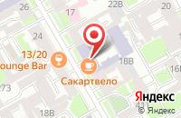 Схема проезда до компании Рубеж в Санкт-Петербурге