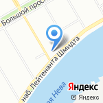 Детская музыкальная школа №11 на карте Санкт-Петербурга
