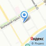 Крок на карте Санкт-Петербурга
