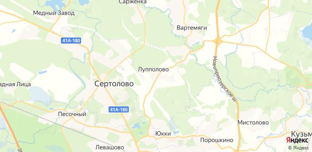 Лупполово на карте