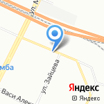 Злата на карте Санкт-Петербурга