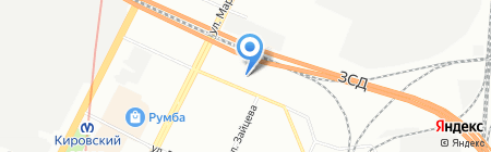 Русьхим на карте Санкт-Петербурга