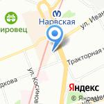 Магазин сумок и постельных принадлежностей на карте Санкт-Петербурга