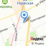 Лицей №384 на карте Санкт-Петербурга