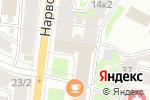 Схема проезда до компании Галактика в Санкт-Петербурге