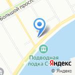 Второй двор на карте Санкт-Петербурга