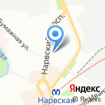 Мир здоровья на карте Санкт-Петербурга
