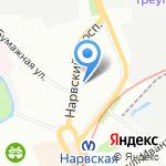 Олимп на карте Санкт-Петербурга