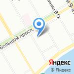 Т-Системс РУС на карте Санкт-Петербурга