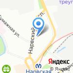 Питер-Спорт на карте Санкт-Петербурга