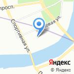 Федерация волейбола Санкт-Петербурга на карте Санкт-Петербурга