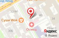 Схема проезда до компании Пис Оф Кейк в Санкт-Петербурге