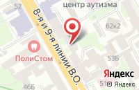 Схема проезда до компании Электротехника в Санкт-Петербурге